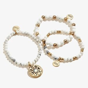 💛NEW!🤍Alex & Ani Moon Phase 3 Stretch Bracelets